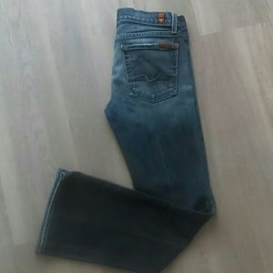 7 for all mankind jeans size 27 (flip flop)